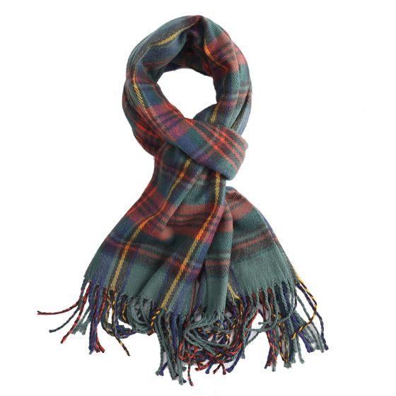 cosy green tartan scarf Shop Carrickmacross Shop Online