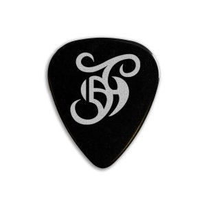 Barry Jay Hughes Guitar Plectrum Black