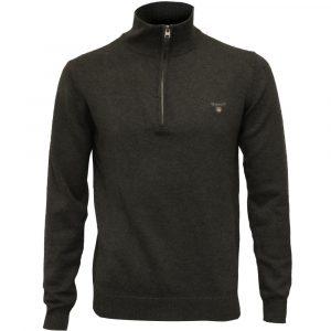 Gant half zip dark grey
