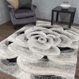 Luxus Flower Grey Setting (Large) Shop Carrickmacross Shop Online