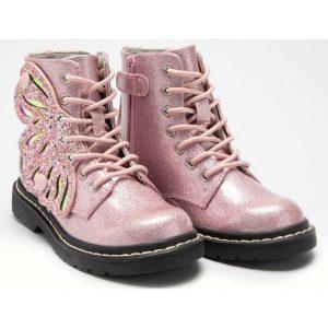 lelli kelly glitter butterfly boot